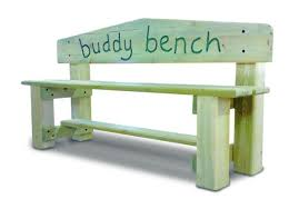 buddy bench, student support