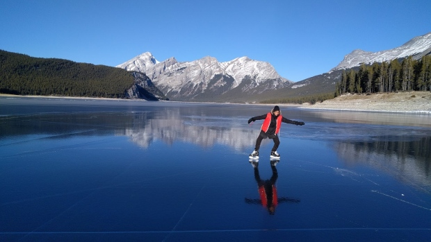 Skating On Mountain Lakes Far From Risk Free Says Parks