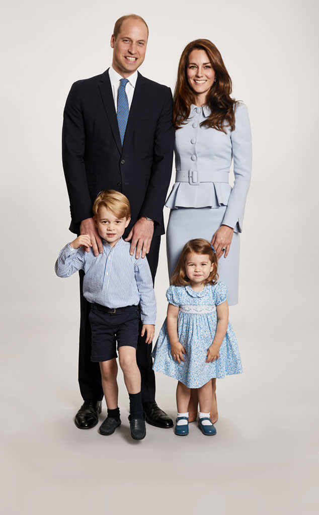 All The Details On The Royal Family S Blue Christmas Card Outfits And Where You Ve Seen Them