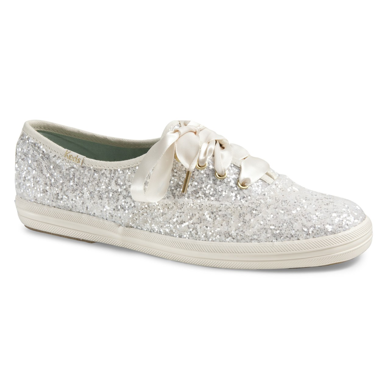 9723da049b20 Kate Spade New York and Keds Made the Bridal Sneakers You ll Want to Wear  on Your Wedding Day