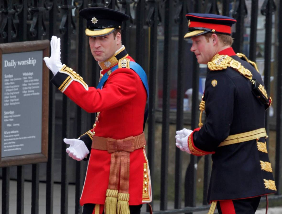 Prince William to serve as best man Prince Harry at royal wedding ...